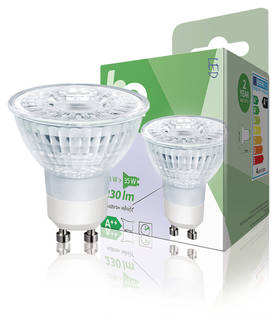 LED-lamppu, Halogeenin Näköinen, MR16, GU10, 3,1 W, 230 lm, 2 700 K - LED Lamput - 5412810249060 - 1