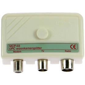 CATV Jaotin / 5-1000 MHz - 3 - Jakajat - 8713222006621 - 1