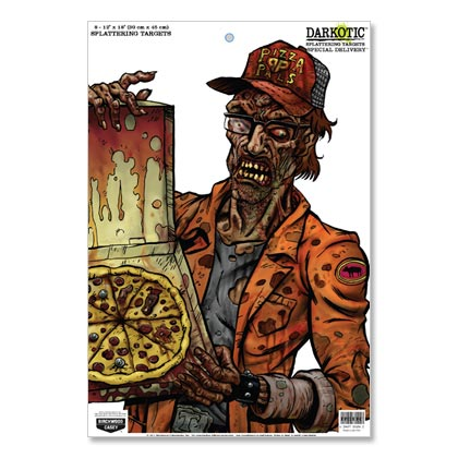 "Darkotic 12""x18"" Special Delivery taulu - Zombie jousitaulut - 029057356502 - 1"
