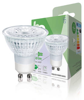 LED-lamppu, Halogeenin Näköinen, MR16, GU10, 1,7 W, 140 lm, 2 700 K - LED Lamput - 5412810249053 - 1