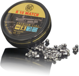 RWS R-10 Match 4,5mm LP - 4.5mm luodit - 4000294154423 - 1
