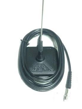 VHF ajoneuvoantenni magnetti kiinnitys - Ajoneuvoantennit ja adapterit - DM040113-5 - 1