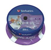 DVD+R Double Layer Inkjet Printable 8x - DVD-RW - VB-43667 - 1