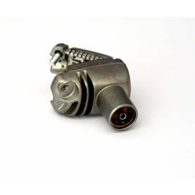 Koaksiaali-Liitin Naaras Metalli - Liittimet ja Plugit - 5055146401018 - 1