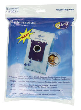 Pölypussi Electrolux S-bag E203 Anti-odour - Pussit - 3023372018609 - 1