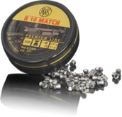 RWS R-10 Match 4,5mm - 4.5mm luodit - 815-2600DN - 1