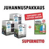 Thermacell Juhannuspakkaus - Hyttyskarkottimet - MR-D203-jussi-pkt - 1