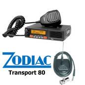 Zodiac Transport 80 ajoneuvoantennilla - VHF-ajoneuvoasemat - 0703603021006-PKT - 1